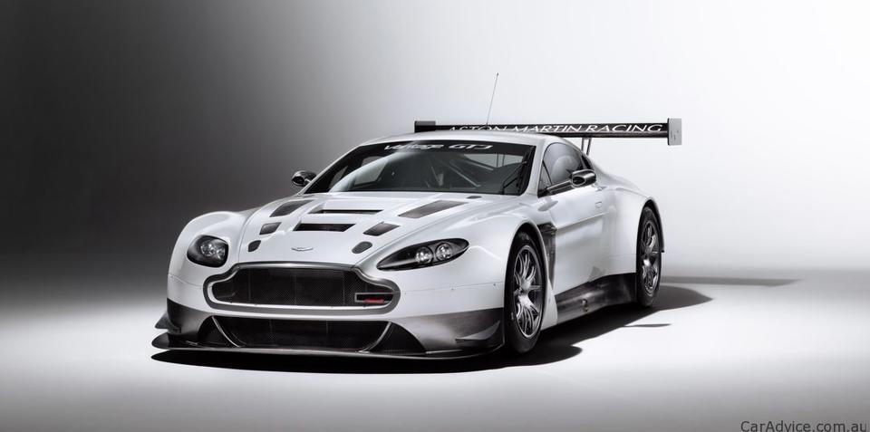 Aston Martin V12 Vantage GT3 goes testing
