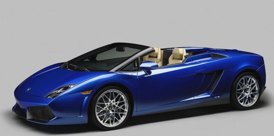 2012 Lamborghini Gallardo LP550-2 Spyder to be auto only