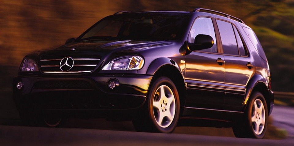 1999-2004 Mercedes-Benz ML 163 recalled in Australia: 7489 vehicles affected