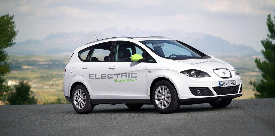 SEAT Altea XL Electric Ecomotive coming in 2015