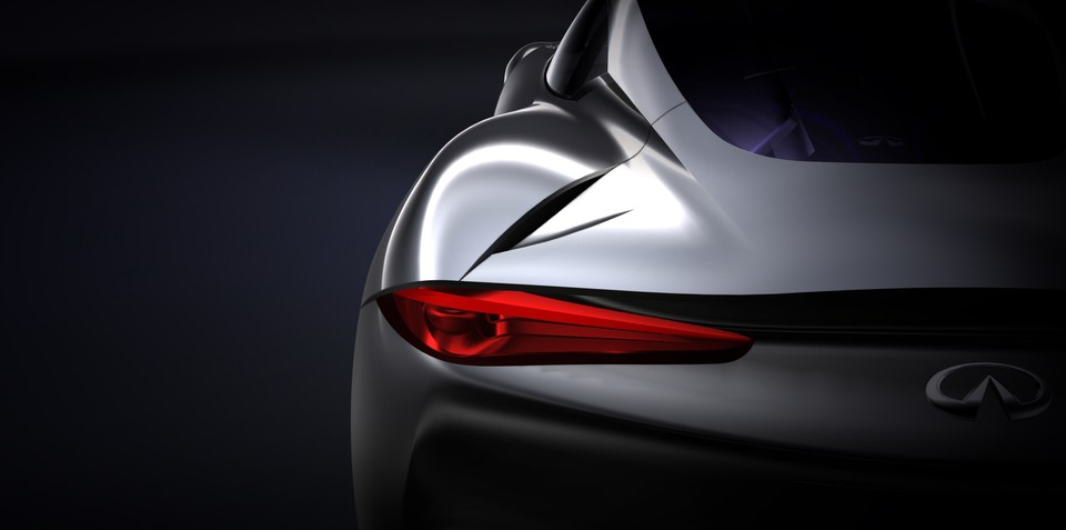 Infiniti sports car concept previewed
