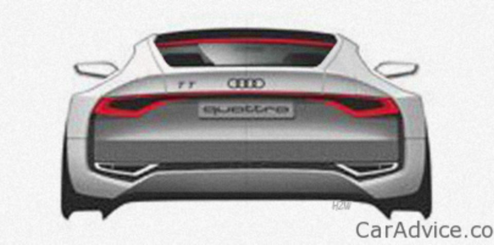 New Audi TT sketch may hint at Tokyo concept
