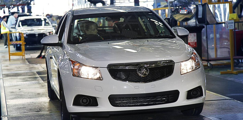 Holden Cruze hatch boosts Australian production to 480 cars per day