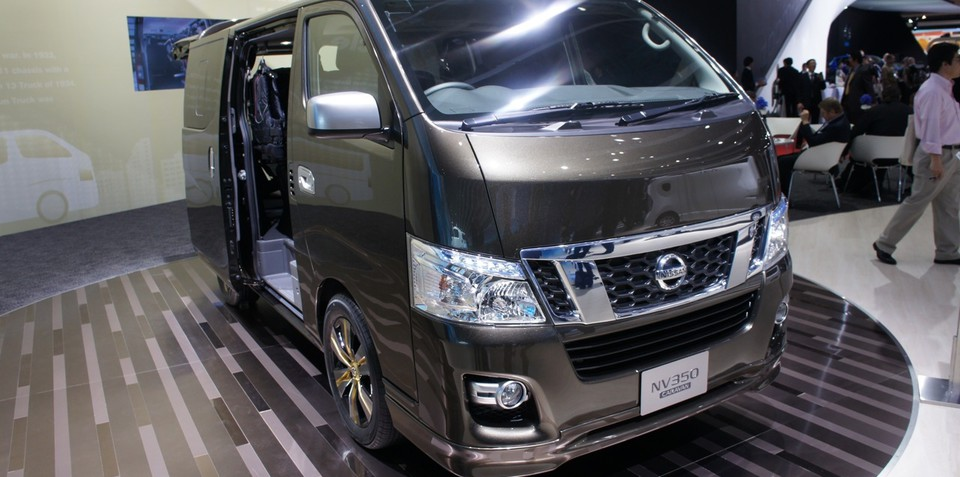Nissan NV350 a potential starter for Australia