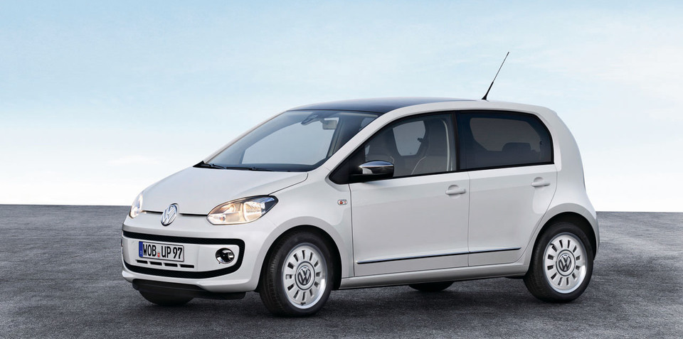 2012 Volkswagen Up! five-door officially revealed