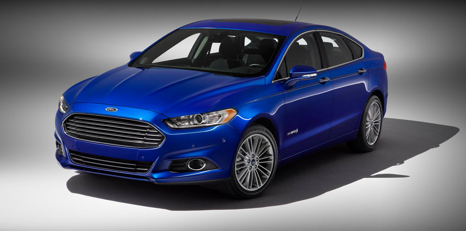 2013 Ford Mondeo revealed: official pictures and details