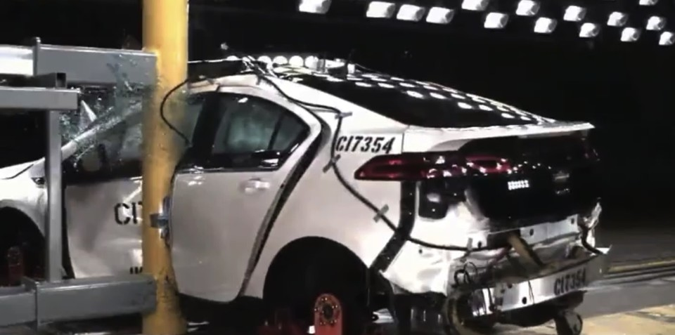 Chevrolet Volt gets structural upgrades to reduce fire threat