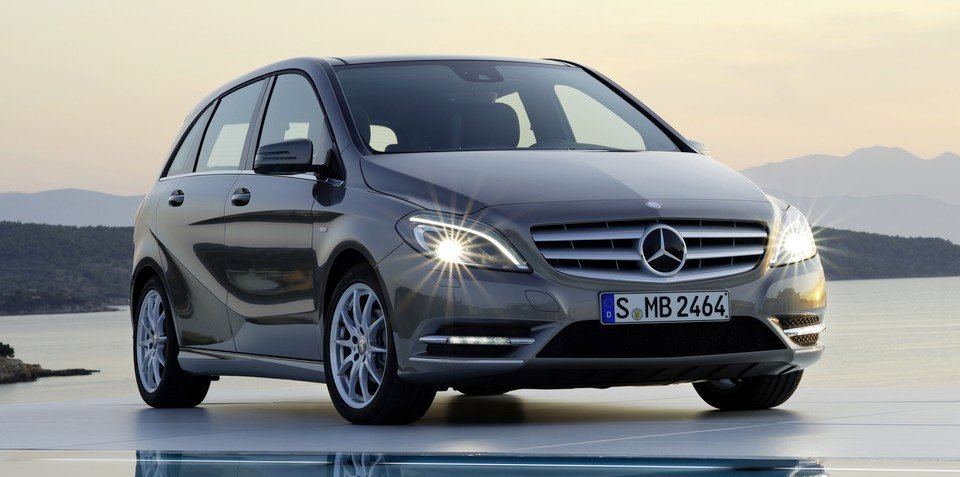 New Mercedes-Benz B-Class begins small-car sales assault