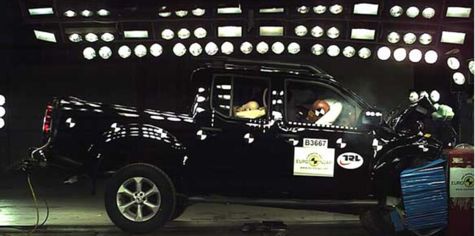 2012 Nissan Navara gets four-star ANCAP rating
