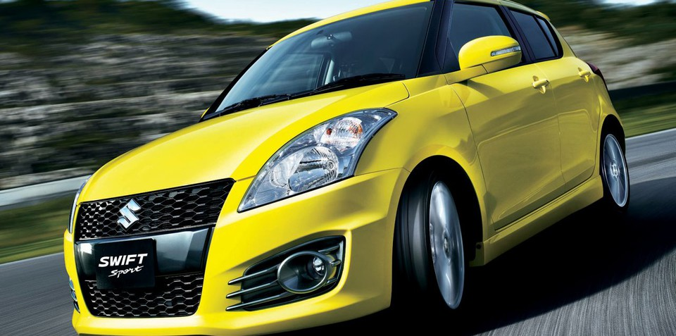 2012 Suzuki Swift Sport launched