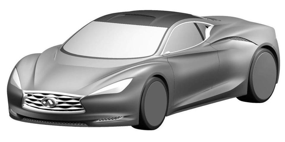 Infiniti Emerg-e concept revealed in patent images