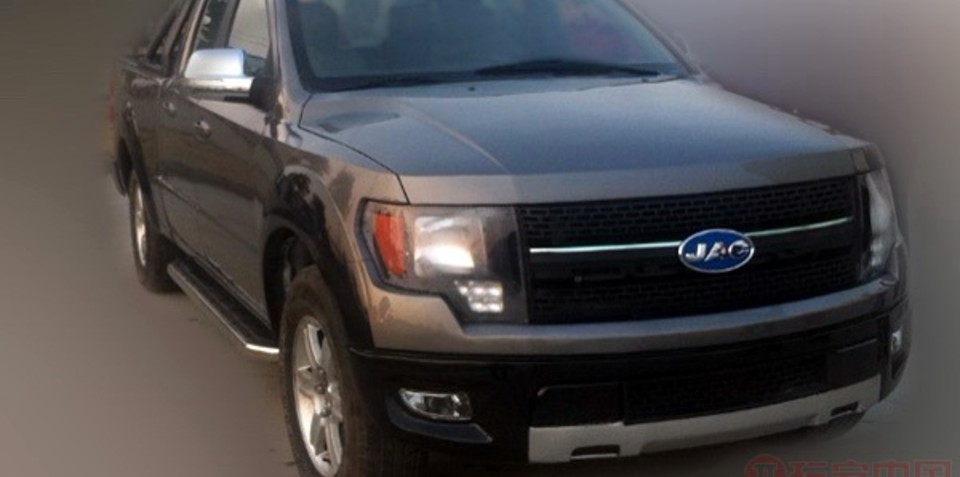 JAC 4R3: China clones the Ford F-150