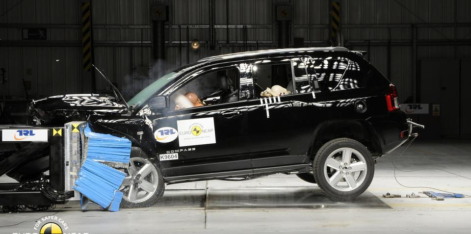 Jeep Compass scores dismal two-star Euro NCAP safety rating