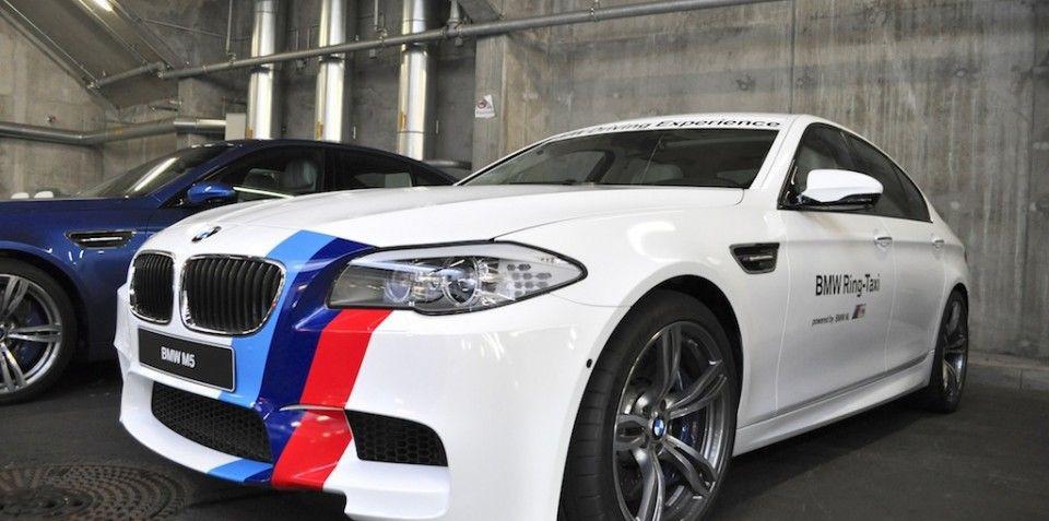 2012 BMW M5 Ring Taxi: Photos