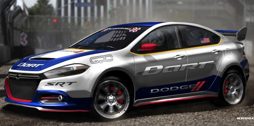 Dodge Dart RallyCross: 0-100km/h in 1.9 seconds