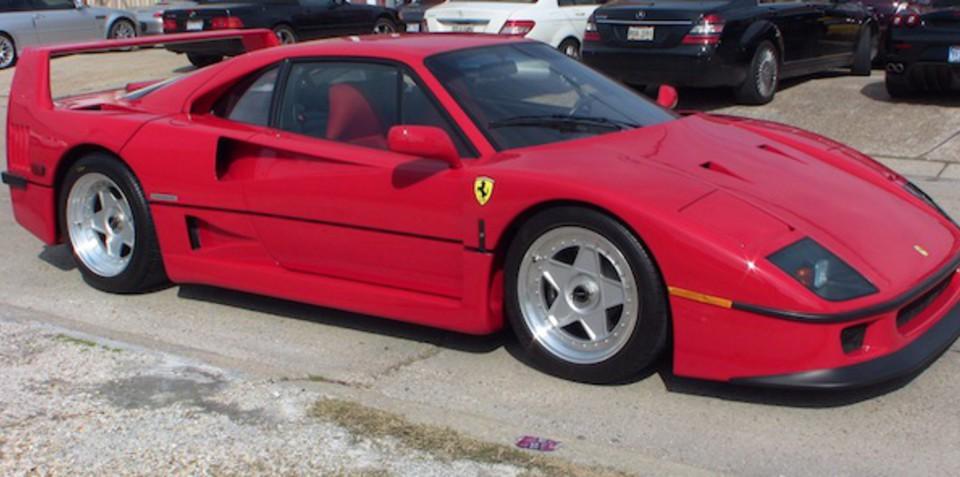 Ferrari F40 for sale on eBay
