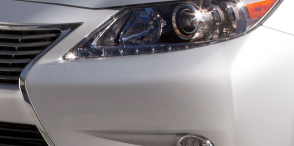 2013 Lexus ES to be revealed in New York