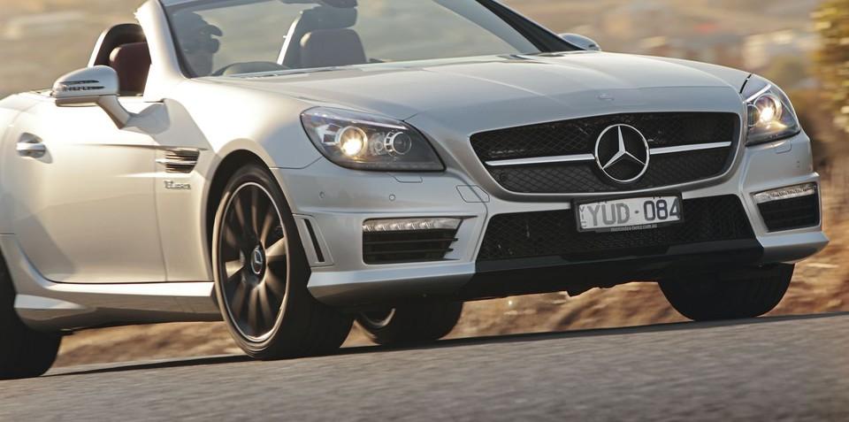 Mercedes-Benz SLK55 AMG launched