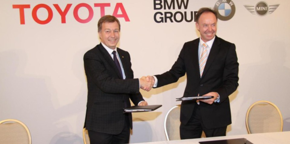 Toyota, BMW commence technology partnership