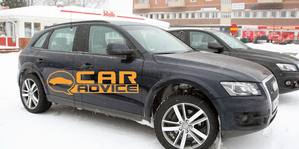 Audi Q6 prototype spy shots