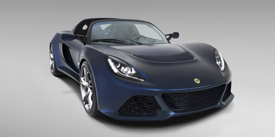 Lotus Exige S Roadster unveiled