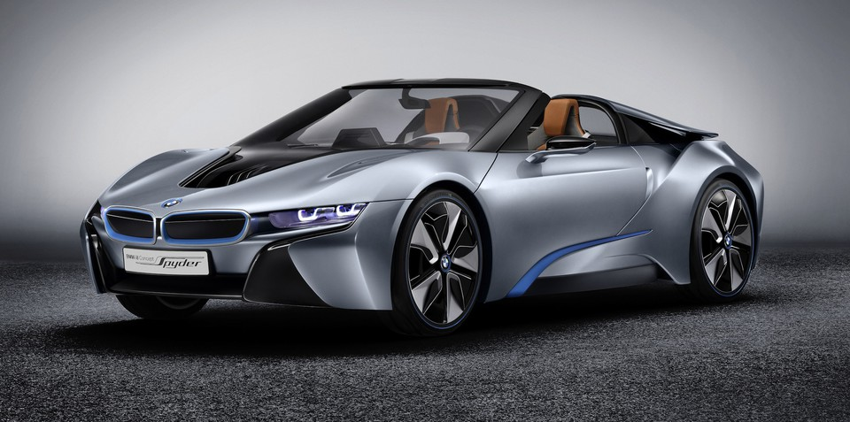 BMW i8 Spyder revealed