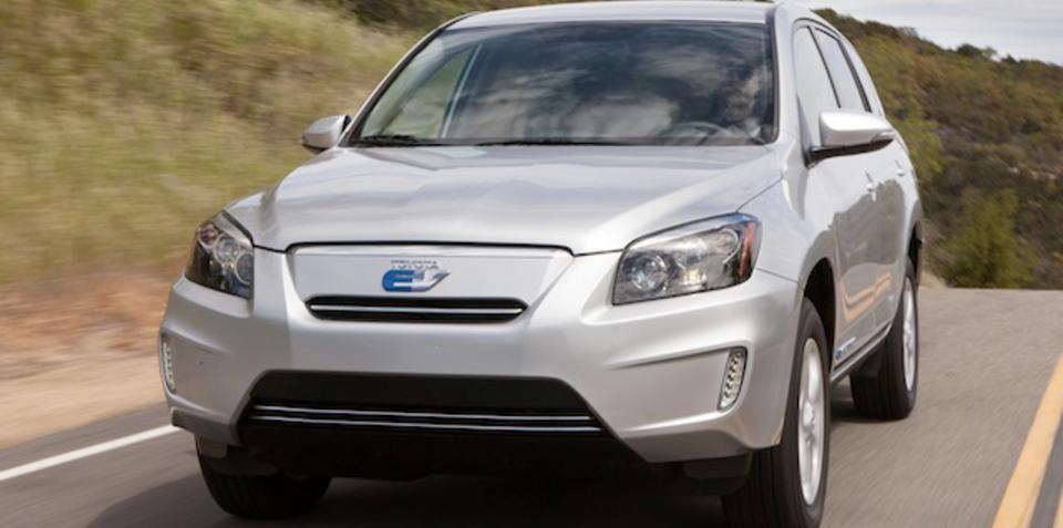 Toyota RAV4 EV: California-only electric SUV revealed