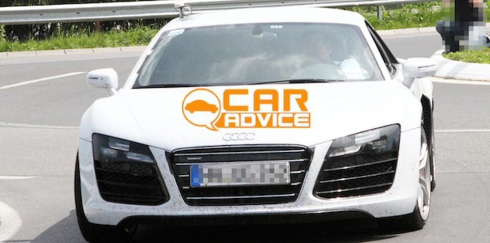 2013 Audi R8 spy shots