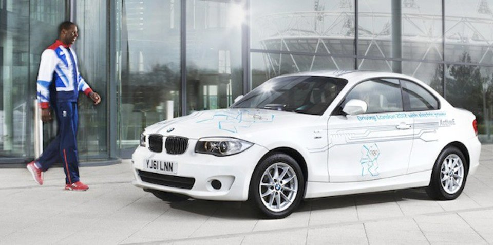 BMW low-emission London Olympic Games fleet unveiled