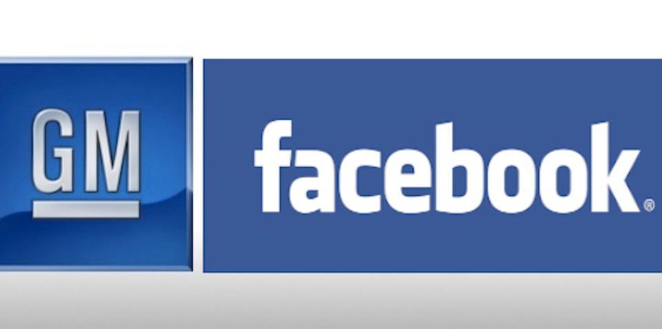 GM to 'Unlike' Facebook