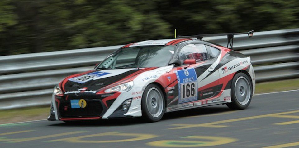 Toyota 86 wins first 24 Hours Nurburgring race