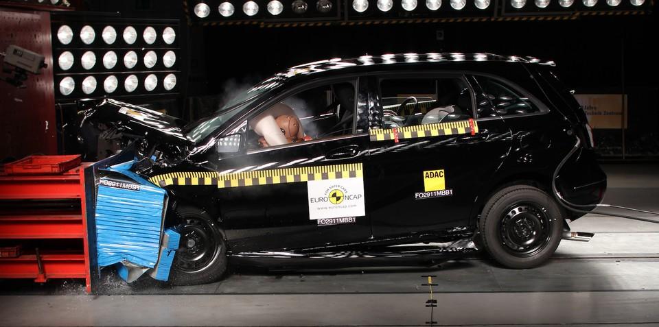 Mercedes-Benz B-Class achieves highest ever ANCAP safety score