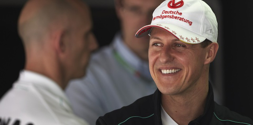 Michael Schumacher finishes second to Tiger Woods...in Sunday Times rich list