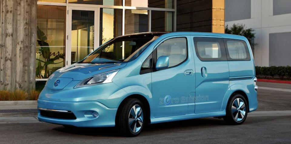 Nissan e-NV200: electric van to launch next year