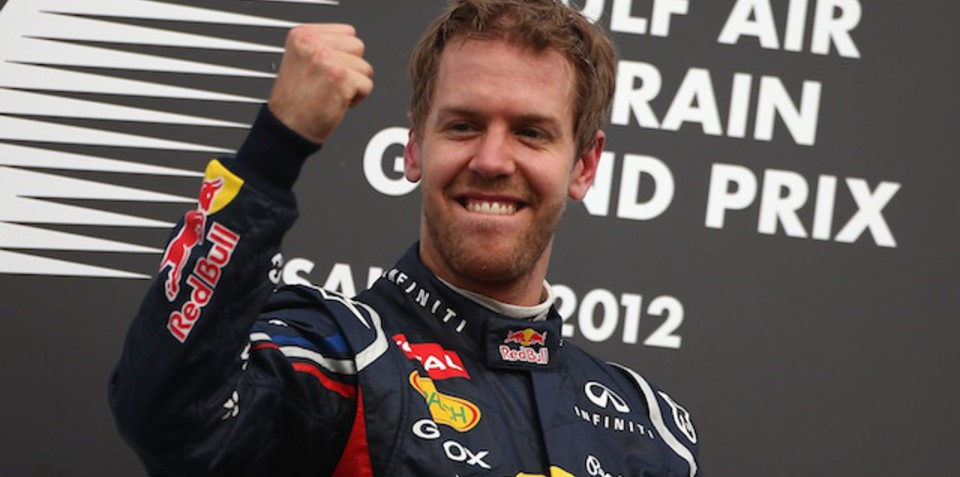 Virtual racers join Sebastian Vettel at Goodwood