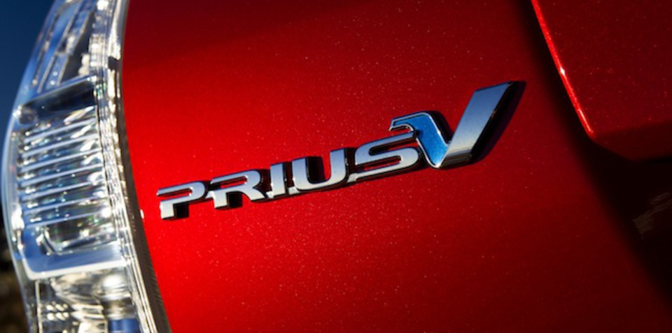Toyota Prius V: Australia's first seven-seat hybrid launched