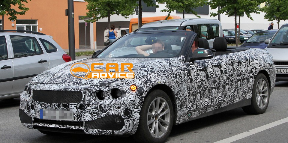 BMW 4-Series Convertible: first pictures of new roadster