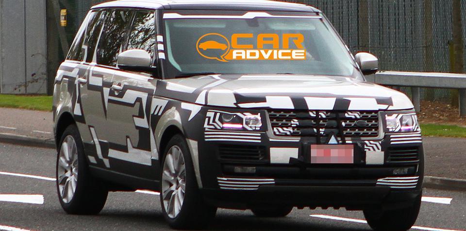 Range Rover spy shots reveal body of new luxury SUV