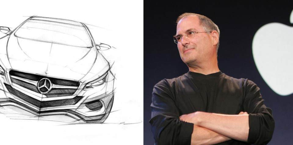 Steve Jobs' Apple iCar dream