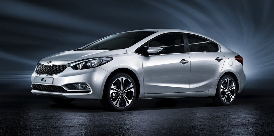 Kia Cerato: new small sedan officially breaks cover