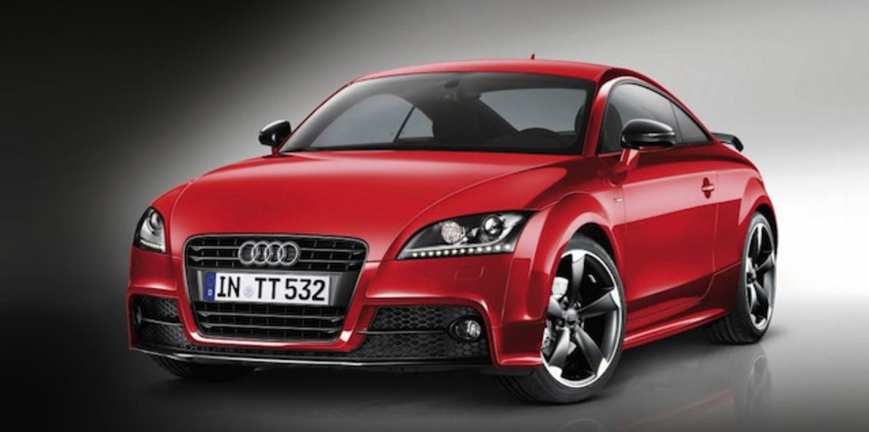 Audi TT Coupe S line competition spec here next year