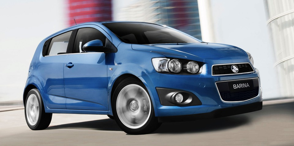 Holden Barina: top value city car in low-speed collisions