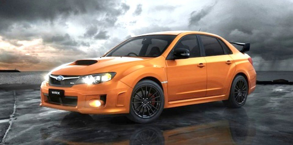 Subaru WRX Club Spec limited edition here next month