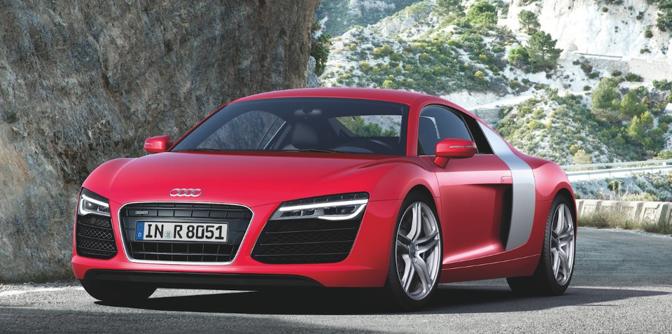 Audi R8: refined sports car here in early 2013
