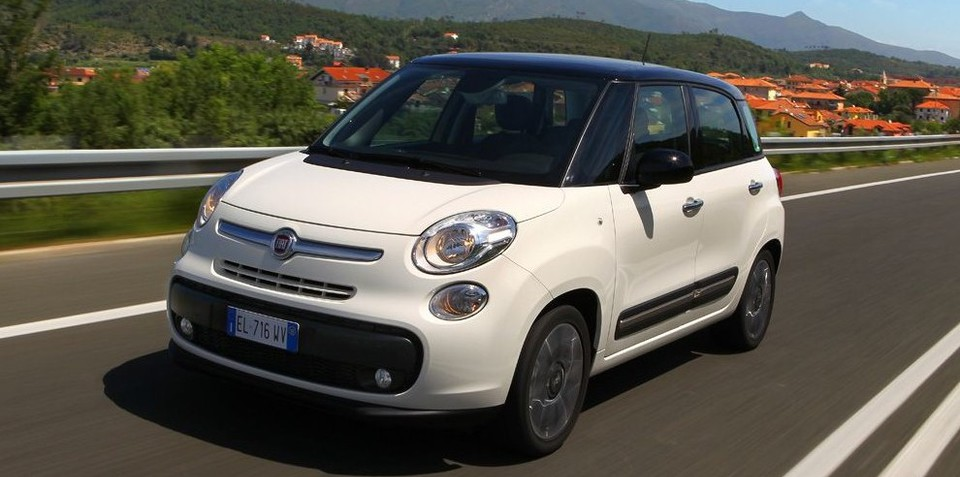 Fiat 500L: Countryman rival a chance for Oz in 2013