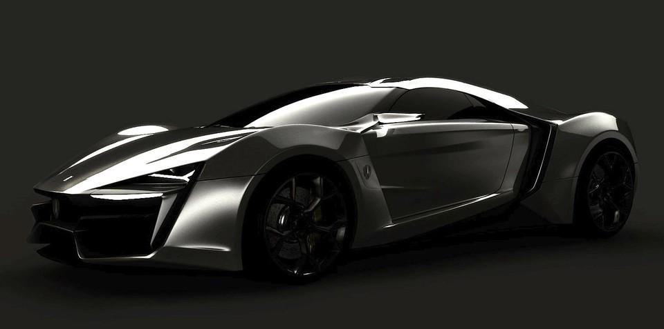 W Motors Hyper-sport: first Arab supercar features hologram tech