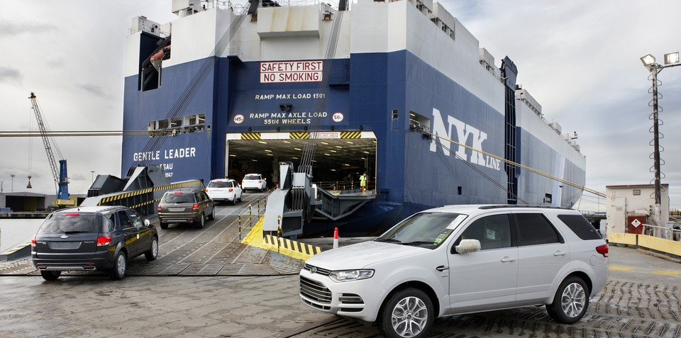 Ford Territory shipped to Thailand in low-volume export deal