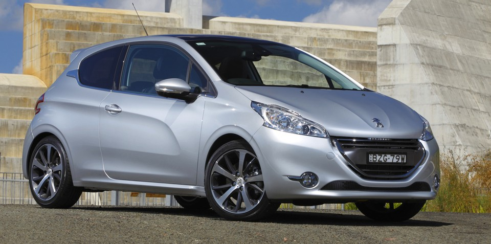 peugeot 208 pricing and specifications released. Black Bedroom Furniture Sets. Home Design Ideas