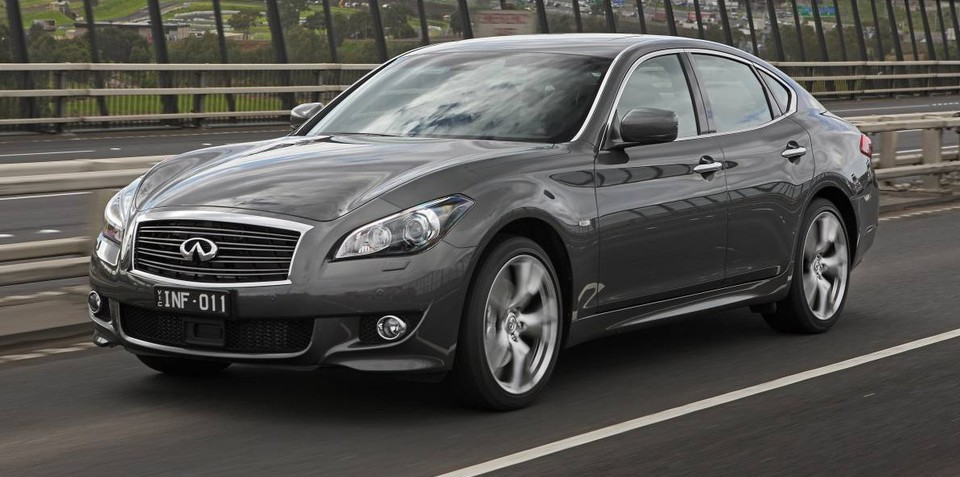 Infiniti Q70 price cut $7500 due to poor sales; GT petrol now $68,900