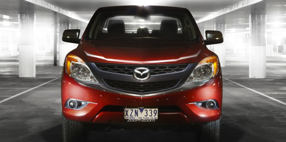 Mazda BT-50 facelift to add more macho styling